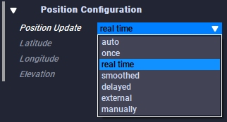 Position Update features