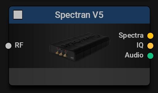 SPECTRAN V5 Block | Main Device Control