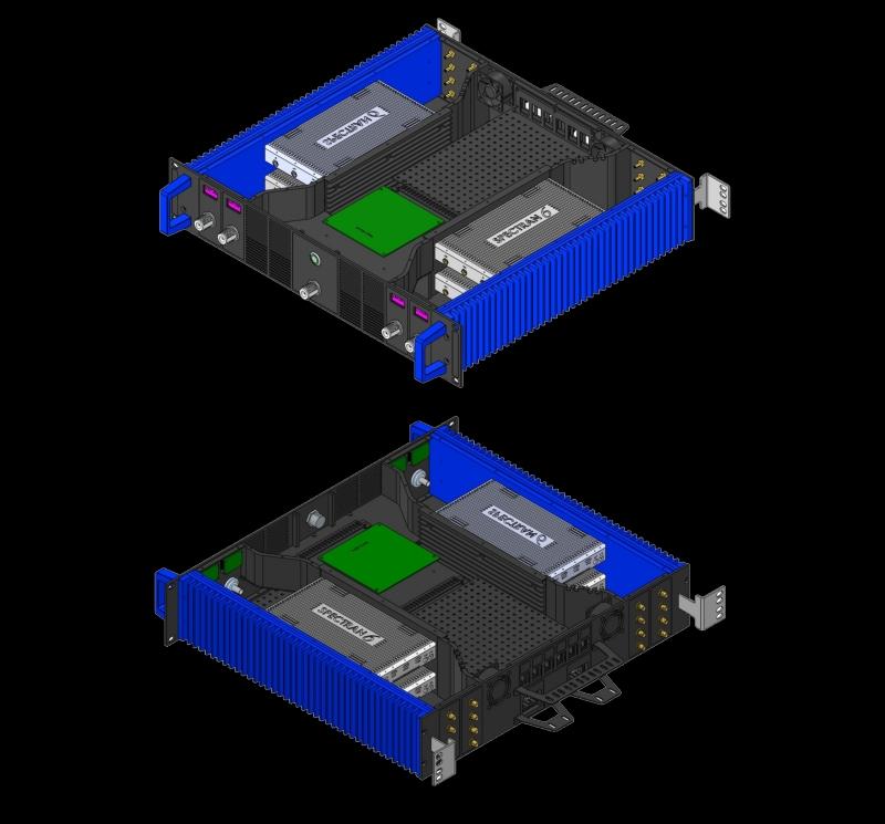 Quadro Vector Signal Generator with 120MHz IQ each