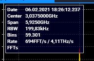 4THz/s Sweep Speed with Spectrum Analyzer Stitching