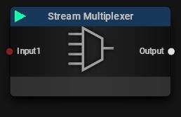 Stream Multiplexer Block