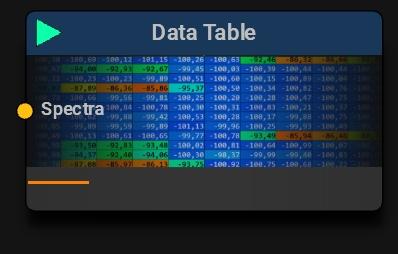 Data Table Block