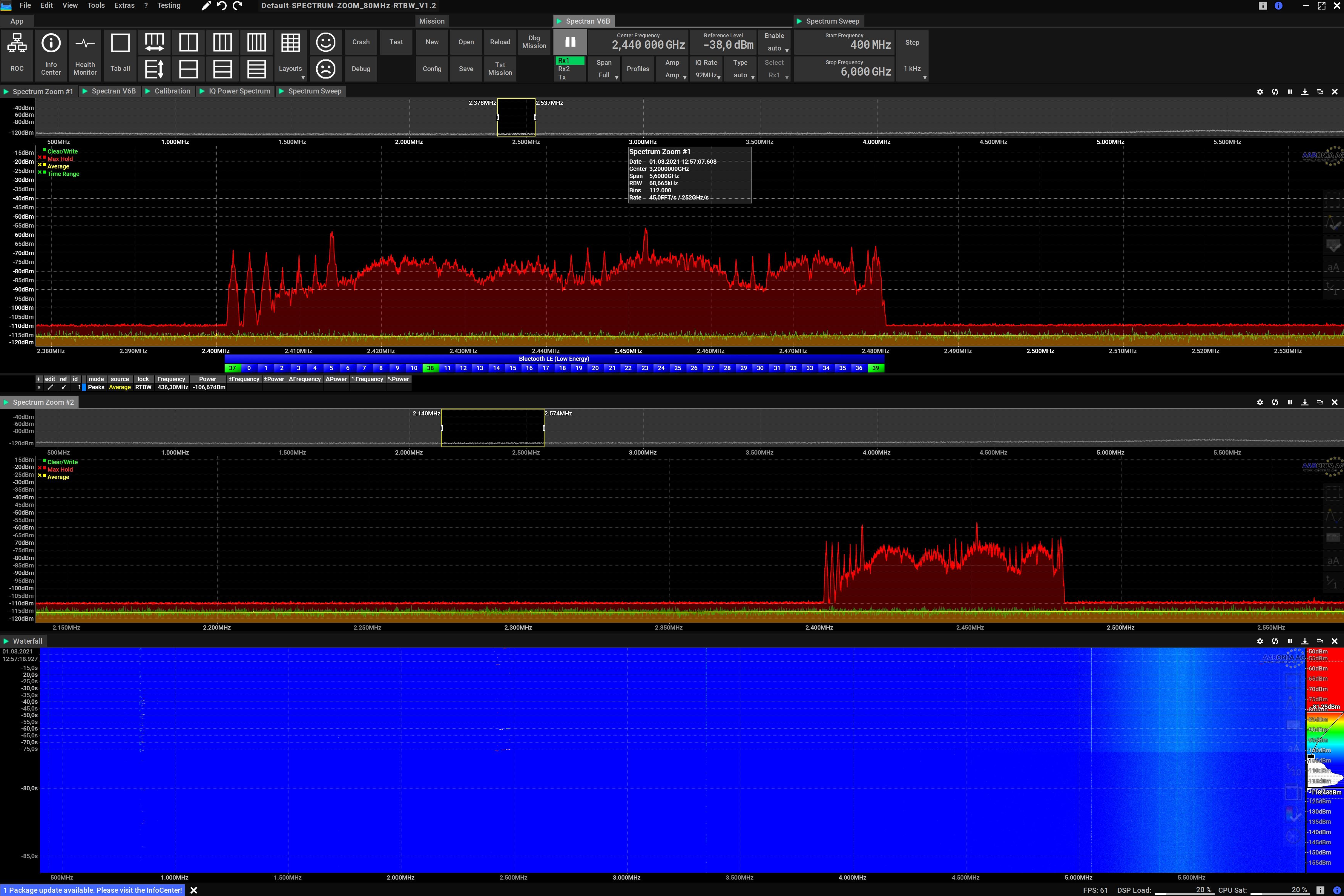 Spectrum Zoom Screenshot