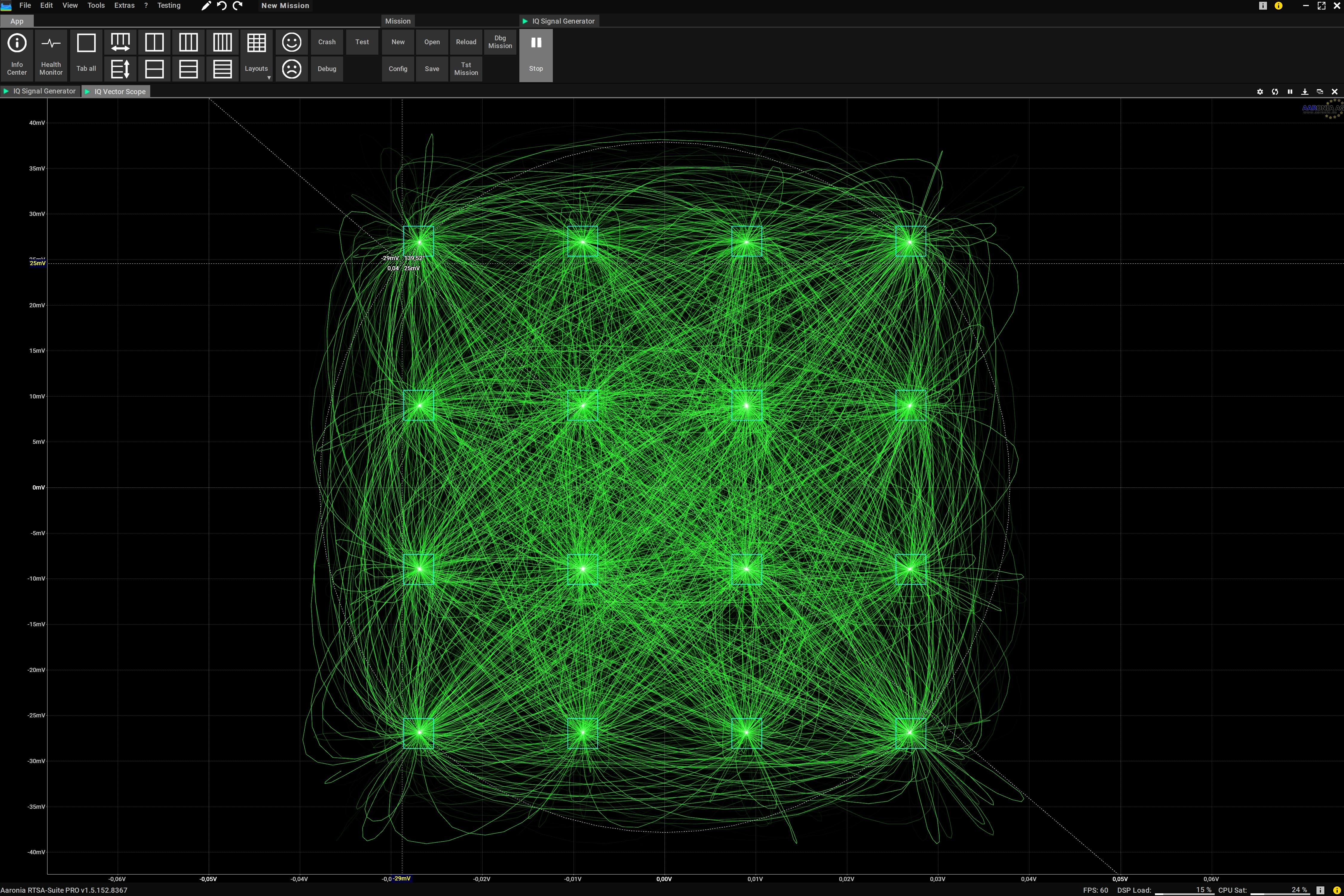 IQ Vector Scope Screenshot