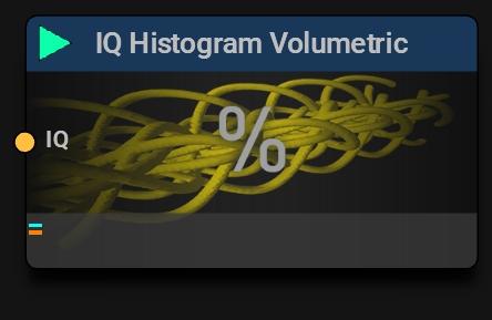 IQ Histogram Volumetric Block