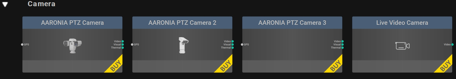 Camera Controls for the RTSA-Suite PRO Software
