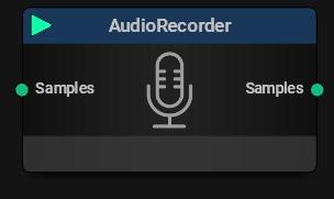 Audio Recorder Block