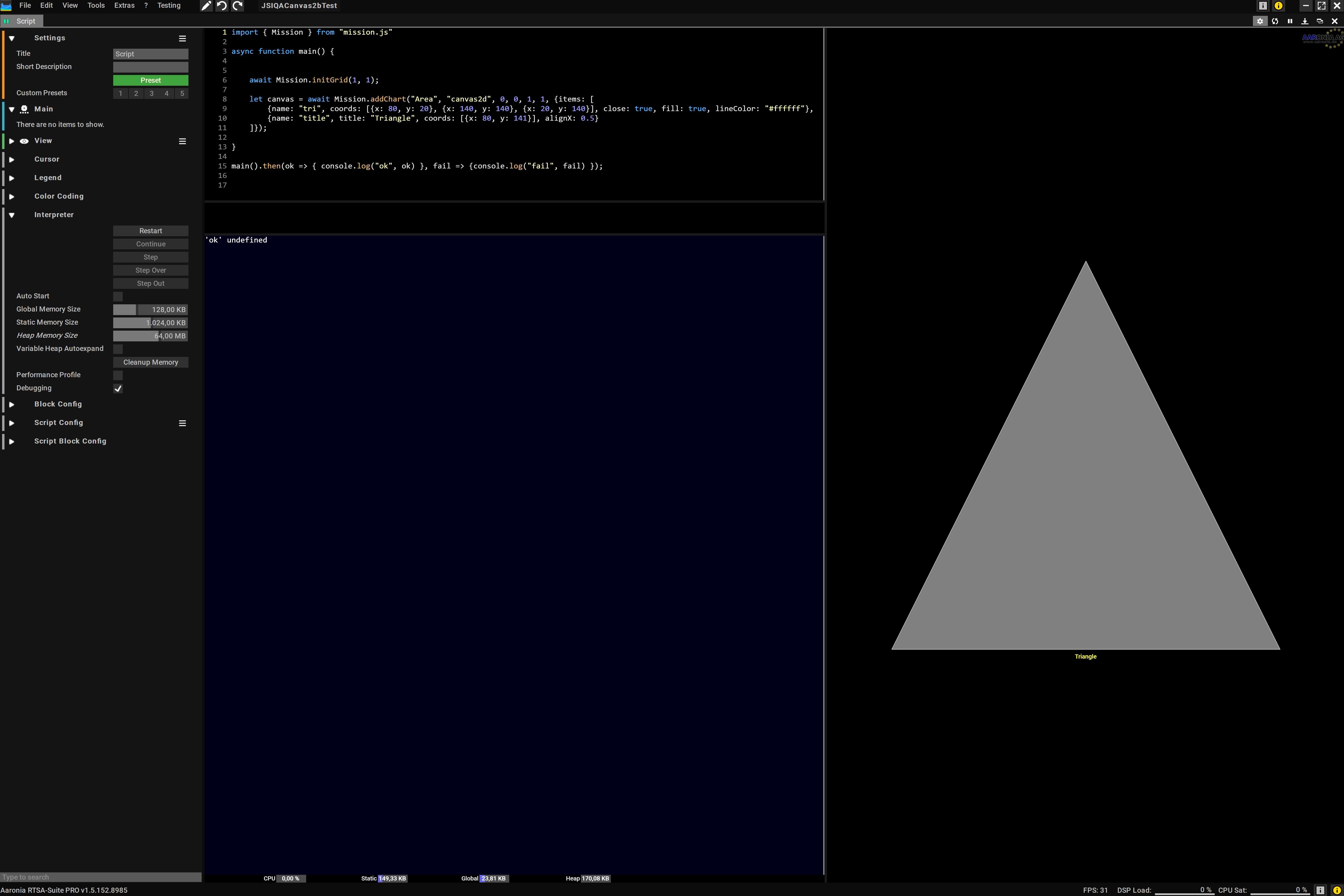 Canvas2D Simple Demo Script