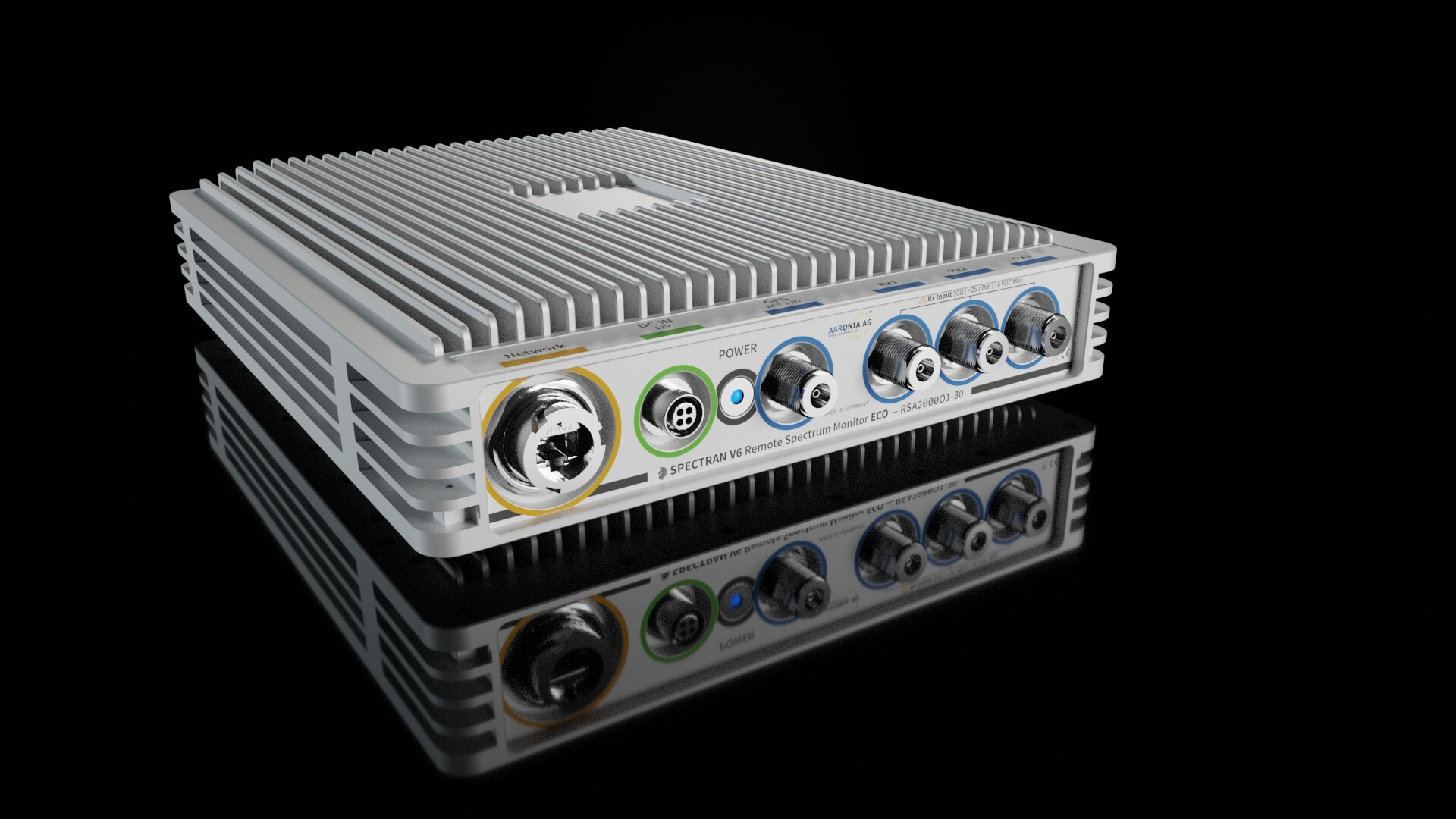 Remote Real-Time Spectrum Analyzer & RF Monitor