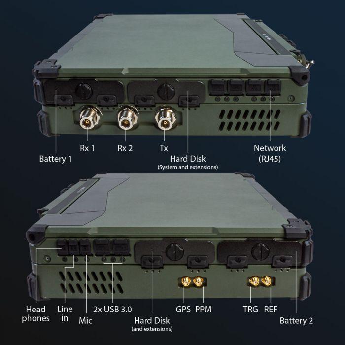 SPECTRAN V6 MIL Military Grade Portable Real-Time RF Monitorr