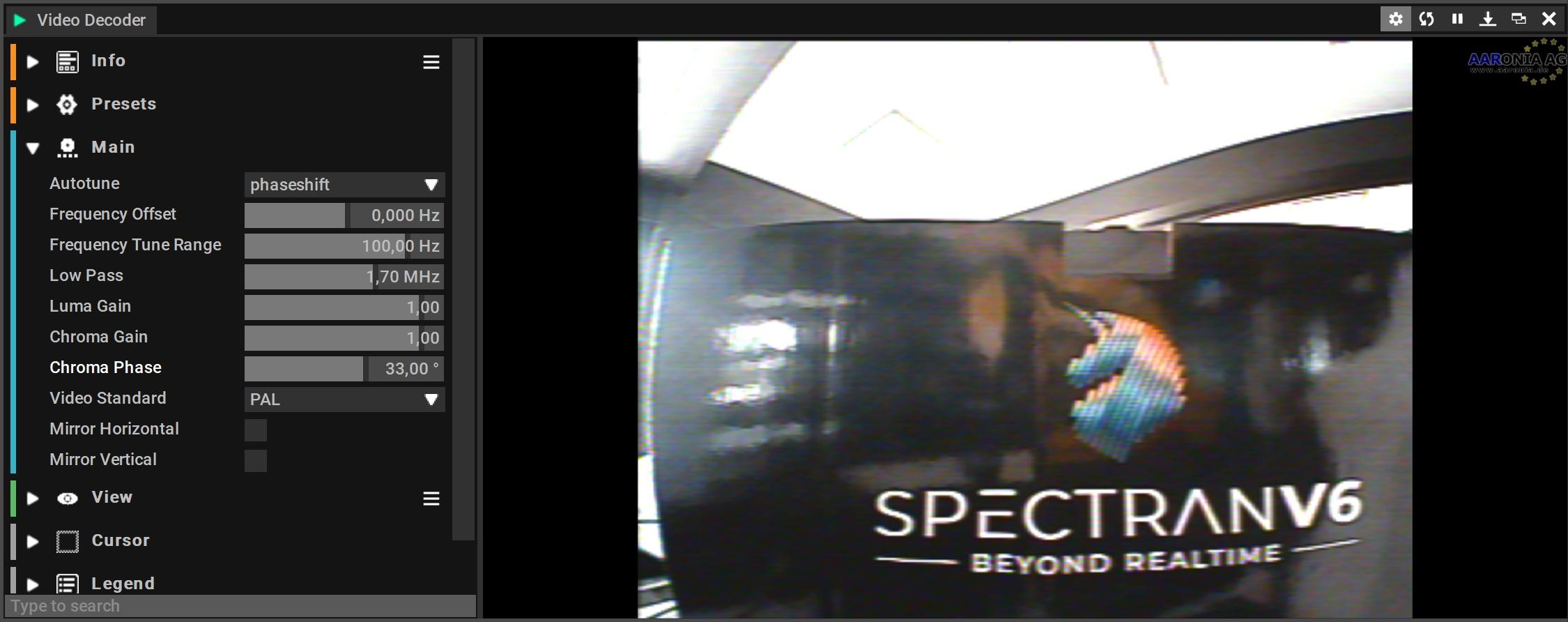 IQ NTSC/PAL Video Decoder